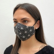 16S - Face mask with SWAROVSKI CRYSTALS