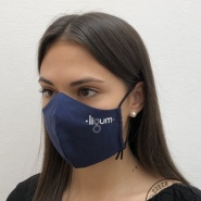 Face mask with logo Ligum